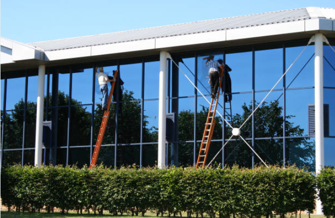 window cleaners at work port st lucie